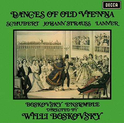 ヴィリー・ボスコフスキー/ウィーンの古き佳き舞曲集, モーツァルト: セレナ-ド 第7番「ハフナー」, 他 [PROC-1920]