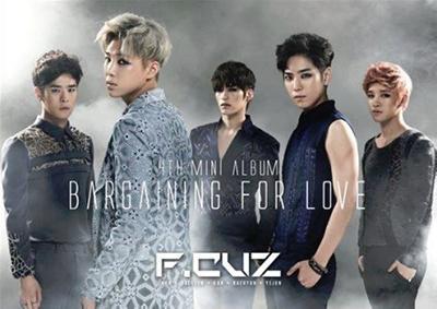 F.cuz/Bargaining For Love: 4th Mini Album[WMED0100]