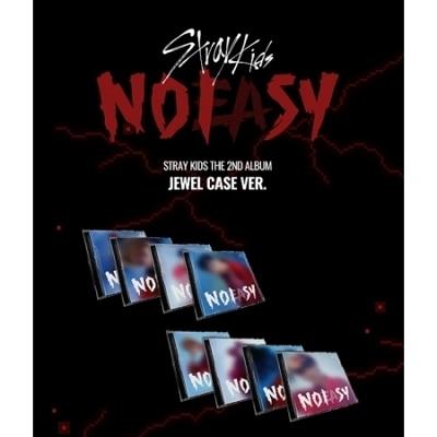 NOEASY: Stray Kids Vol.2 (Jewel Case Ver.) (ランダムバージョン) CD