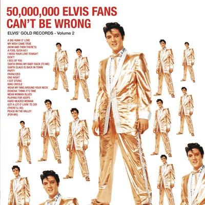 Elvis Presley/50,000,000 Elvis Fans Can't Be Wrong: Elvis' Golden Records, Vol. 2[MOVLP115]