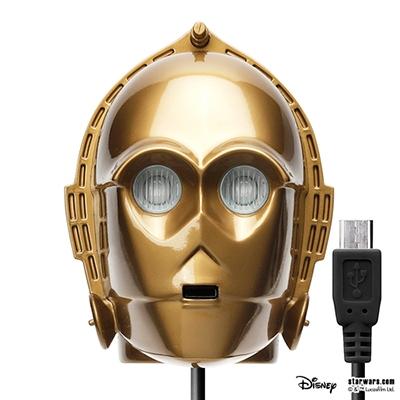 STARWARS micro USBコネクタAC充電器2A C-3PO [PG-DAC351C3]