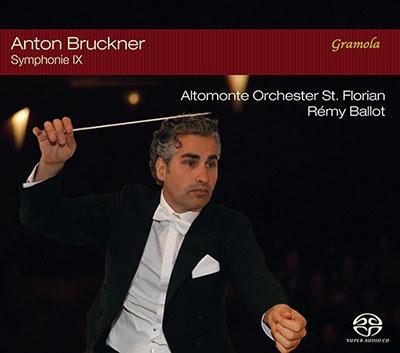 レミ・バロー/ブルックナー: 交響曲第9番(1896) 〜聖フローリアン大聖堂ライヴ2015〜 [SACD Hybrid+CD][GRAM99089]