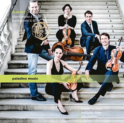 モーツァルト: ディヴェルティメントとホルン五重奏曲