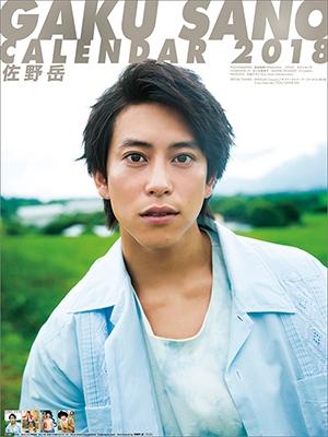 佐野岳/佐野岳 2018 カレンダー [CL306]