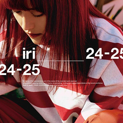 iri/24-25 [CD+Tシャツ]<完全生産限定盤>[VIZL-1718]