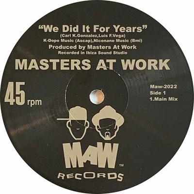 We Did It For Years<Silver Vinyl限定盤>