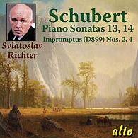 スヴャトスラフ・リヒテル/Schubert: Piano Sonatas No.13, No.14, Impromptus D.899[ALC1081]