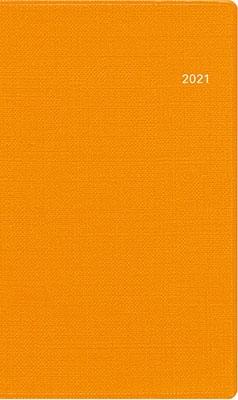 高橋書店 手帳は高橋 T'mini (ティーズミニ) 3 [オレンジ] 手帳 2021年 手帳判 ウィークリー 皮革調 オレンジ No.151 (2021年版1月始まり)[9784471801519]