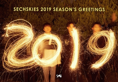 SECHSKIES 2019 SEASON'S GREETINGS [CALENDAR+GOODS+DVD] Book