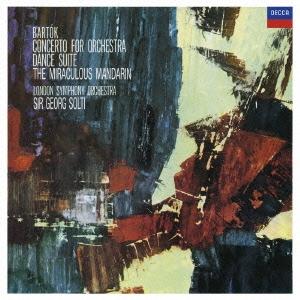 ロンドン交響楽団/バルトーク:管弦楽のための協奏曲 舞踏組曲/中国の不思議な役人<限定盤>[UCCD-3788]