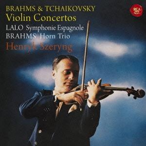 ヘンリク・シェリング/ブラームス&チャイコフスキー:ヴァイオリン協奏曲 ラロ:スペイン交響曲、ブラームス:ホルン三重奏曲 [SICC-1965]
