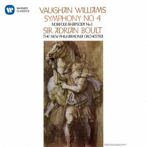 エイドリアン・ボールト/ヴォーン・ウィリアムズ:交響曲 第4番 ノーフォーク狂詩曲 第1番[WPCS-13454]
