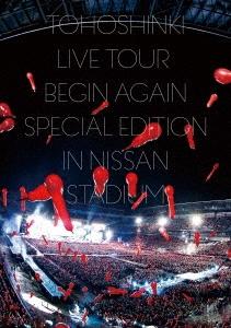 東方神起 LIVE TOUR ~Begin Again~ Special Edition in NISSAN STADIUM [スマプラ付]<通常盤> DVD