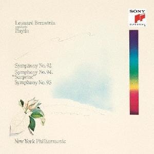 レナード・バーンスタイン/ハイドン:交響曲第93番、第94番「驚愕」&第95番<期間生産限定盤>[SICC-2162]