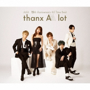 AAA 15th Anniversary All Time Best thanx AAA lot<通常盤/初回限定スリーブ仕様> CD