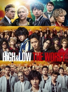 HiGH&LOW THE WORST Blu-ray Disc