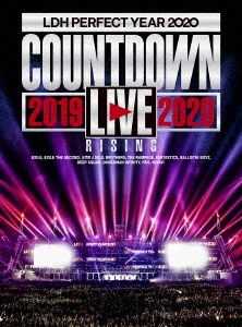 "LDH PERFECT YEAR 2020 COUNTDOWN LIVE 2019→2020 ""RISING""<初回限定三方背ケース仕様> Blu-ray Disc"