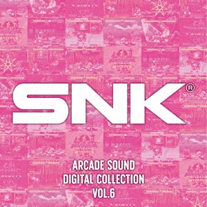 SNK ARCADE SOUND DIGITAL COLLECTION Vol.6 CD