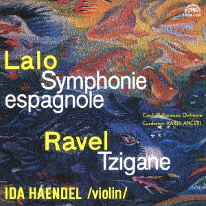 イダ・ヘンデル/ラロ:スペイン交響曲 ラヴェル:ツィガーヌ<タワーレコード限定>[TWSA-1050]