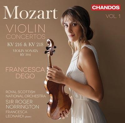モーツァルト: ヴァイオリン協奏曲集 Vol.1