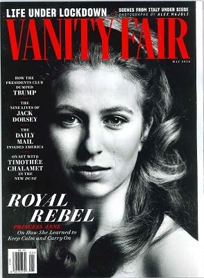 VANITY FAIR 2020年5月号 Magazine