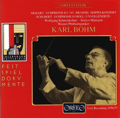 カール・ベーム/モーツァルト: 交響曲第35番《ハフナー》、ブラームス: ヴァイオリンとチェロのための二重協奏曲、シューベルト: 交響曲第8番《未完成》[C359941DR]