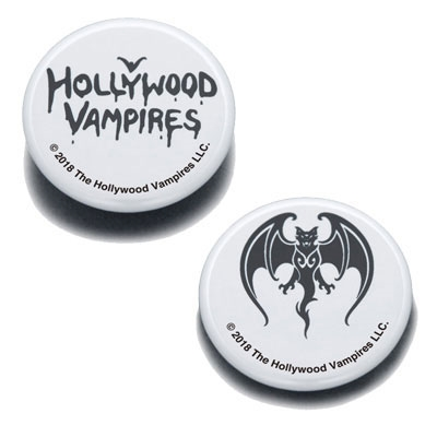 Hollywood Vampires/Hollywood Vampires Button Badges WHITE[WTM736]