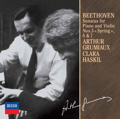 ベートーヴェン:ヴァイオリン・ソナタ第5番≪春≫・第6番・第7番<限定盤>
