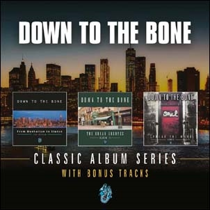 Down To The Bone/Classic Album Series: From Manhattan To Staten / The Urban Grooves / Spread The Word[DOMECD344X]