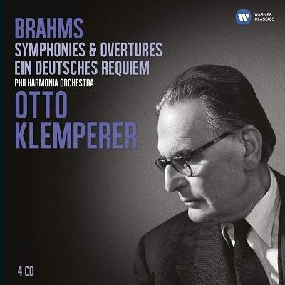 オットー・クレンペラー/ブラームス: 交響曲&ドイツ・レクイエム<限定盤>[CZS4043382]