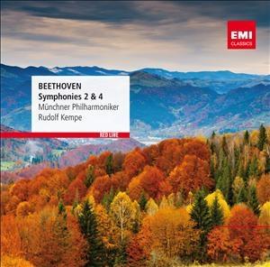 ルドルフ・ケンペ/Beethoven: Symphony No.2 &No.4[9997353022]