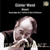 ギュンター・ヴァント/モーツァルト: セレナード 第7番「ハフナー」、第9番「ポストホルン」[SBT1302]