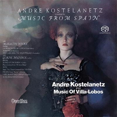 Music Of Villa -Lobos & Conducts Music From Spain SACD Hybrid