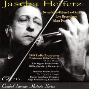 Jascha Heifetz Live Vol.2