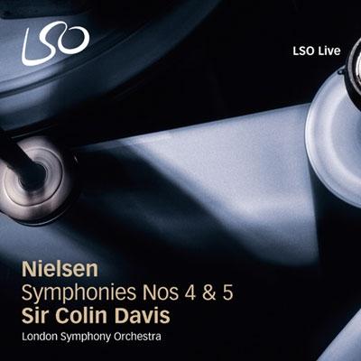 コリン・デイヴィス/Nielsen: Symphonies No.4 Op.29 FS.76, No.5 Op.50 FS.97[LSO0694]