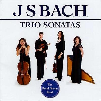 ブルック・ストリート・バンド/J.S.Bach: Trio Sonatas BWV.525-BWV.530[AV2199]