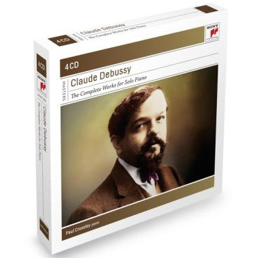 ポール・クロスリー/Debussy: Complete Works for Solo Piano<初回 ...