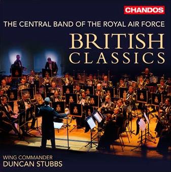 ロイヤル・エア・フォース・セントラル・バンド/British Classics [CHAN10847]