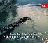トマーシュ・ヤムニーク/Works for Cello &Piano -Martinu: Cello Sonata No.3 H.340; P.Eben: Suita Balladica; L.Sluka: Cello Sonata, etc (3/25,28, 4/1/2008) / Tomas Jamnik(vc), Ivo Kahanek(p)[SU3947]