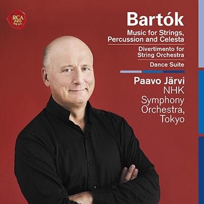 パーヴォ・ヤルヴィ/バルトーク: 弦楽器・打楽器・チェレスタのための音楽他[19439721812]