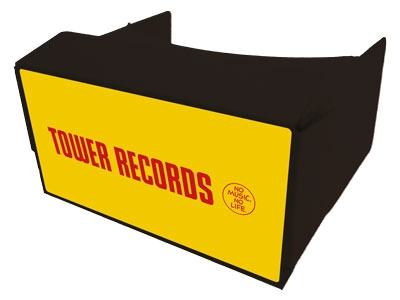 TOWER RECORDS スマートフォン専用VRゴーグル[MD01-3120]