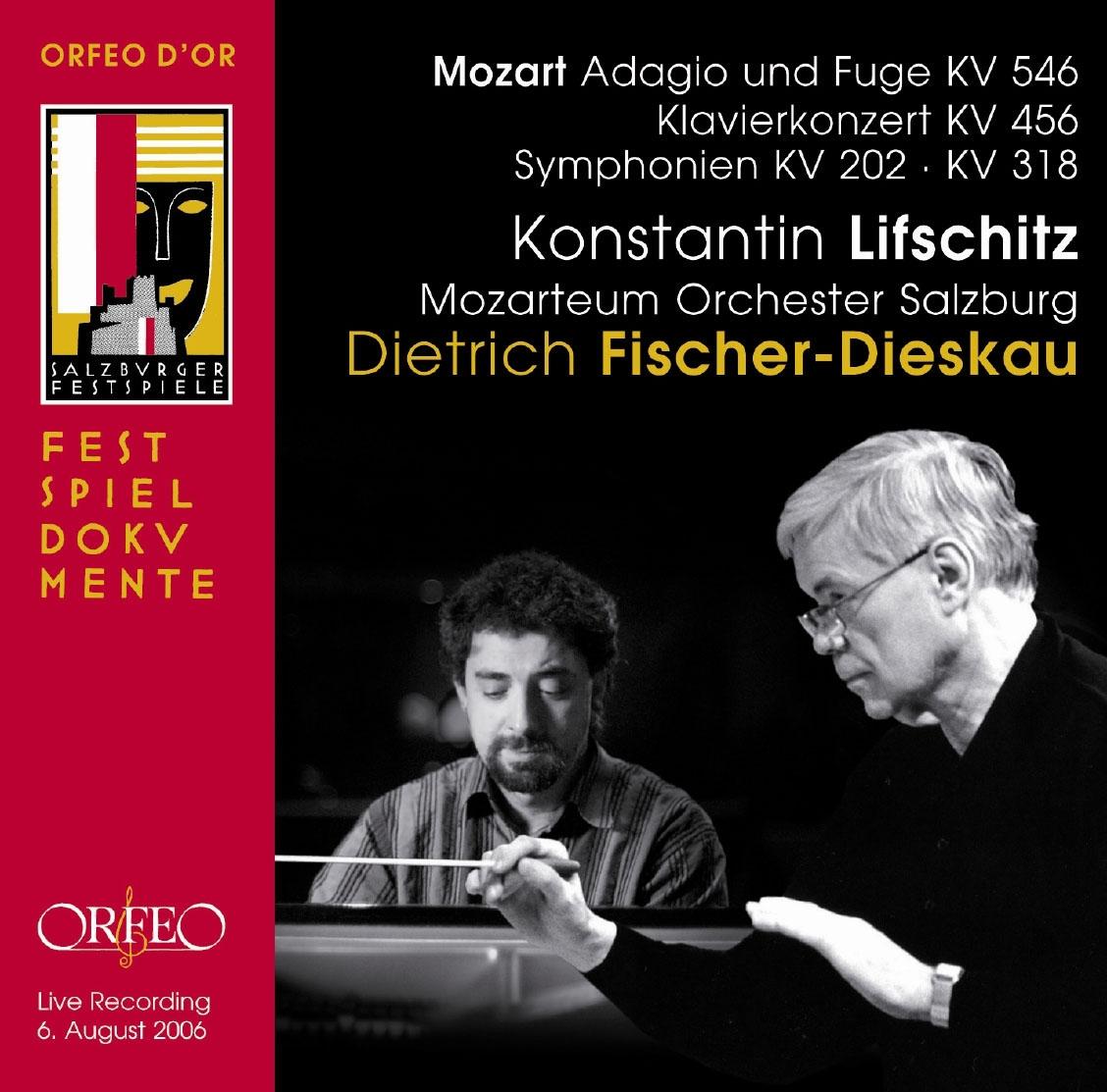 コンスタンティン・リフシッツ/Mozrat: Symphony No.30, No.32, Piano Concerto No.18, Adagio und Fuge KV.546[C844121DR]