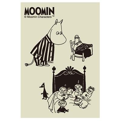 MOOMIN デコクリアステッカー/スリープ [MMST1822 ]