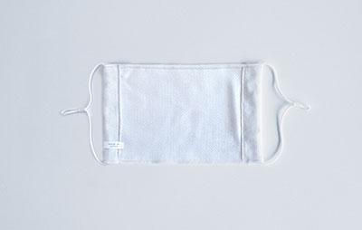 今治サマーマスク【COOlly | クーリイ】 2枚セット/抗菌マスクケース付き(ホワイト) Accessories
