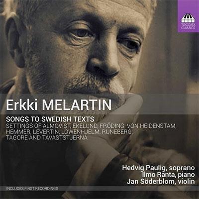 ヘドヴィグ・パウリグ/メラルティン: スウェーデン語のテキストによる歌曲集[TOCC416]