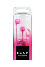 SONY 密閉型インナーイヤーレシーバー MDR-EX15LP ピンク[MDREX15LPPI]