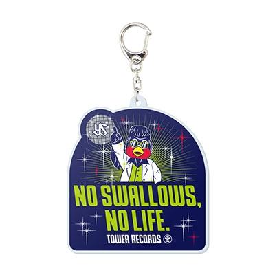 NO SWALLOWS, NO LIFE. 2019 ディスコ つば九郎 アクリルキーホルダー[MD01-4657]