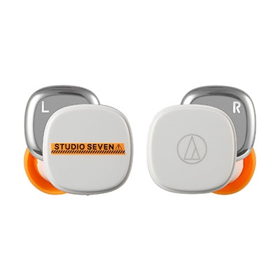 audio-technica×STUDIO SEVEN 完全ワイヤレスイヤホン/White Headphone/Earphone