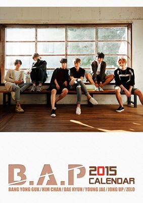 B.A.P 2015JAPANオフィシャルカレンダー Book