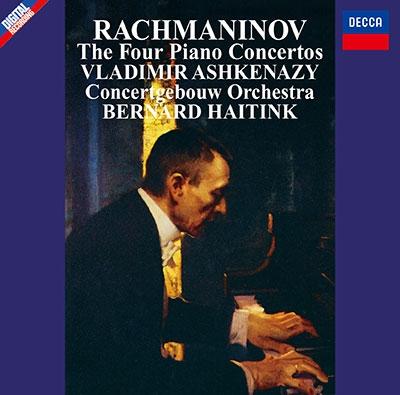 ヴラディーミル・アシュケナージ/ラフマニノフ: ピアノ協奏曲全集〜ピアノ協奏曲第1番-第4番、パガニーニの主題による狂詩曲<タワーレコード限定>[PROC-2211]